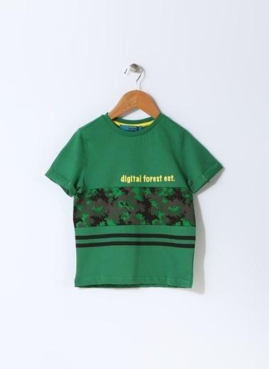 Funky Rocks Tişört Yeşil